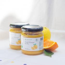 Organic navelina orange extra jam