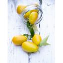 Combinado limequat con limón