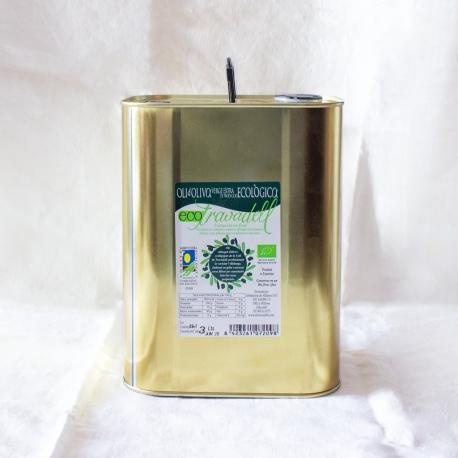 Aceite de Oliva V.E. Eco Travadell lata 3 Lt