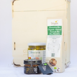 Begur pack with organic products