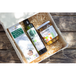 Xixona pack with organic products