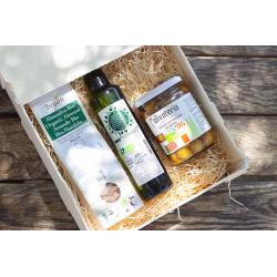 Pack Xixona con productos ecológicos