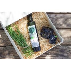 Pack Mediterráneo con productos ecológicos